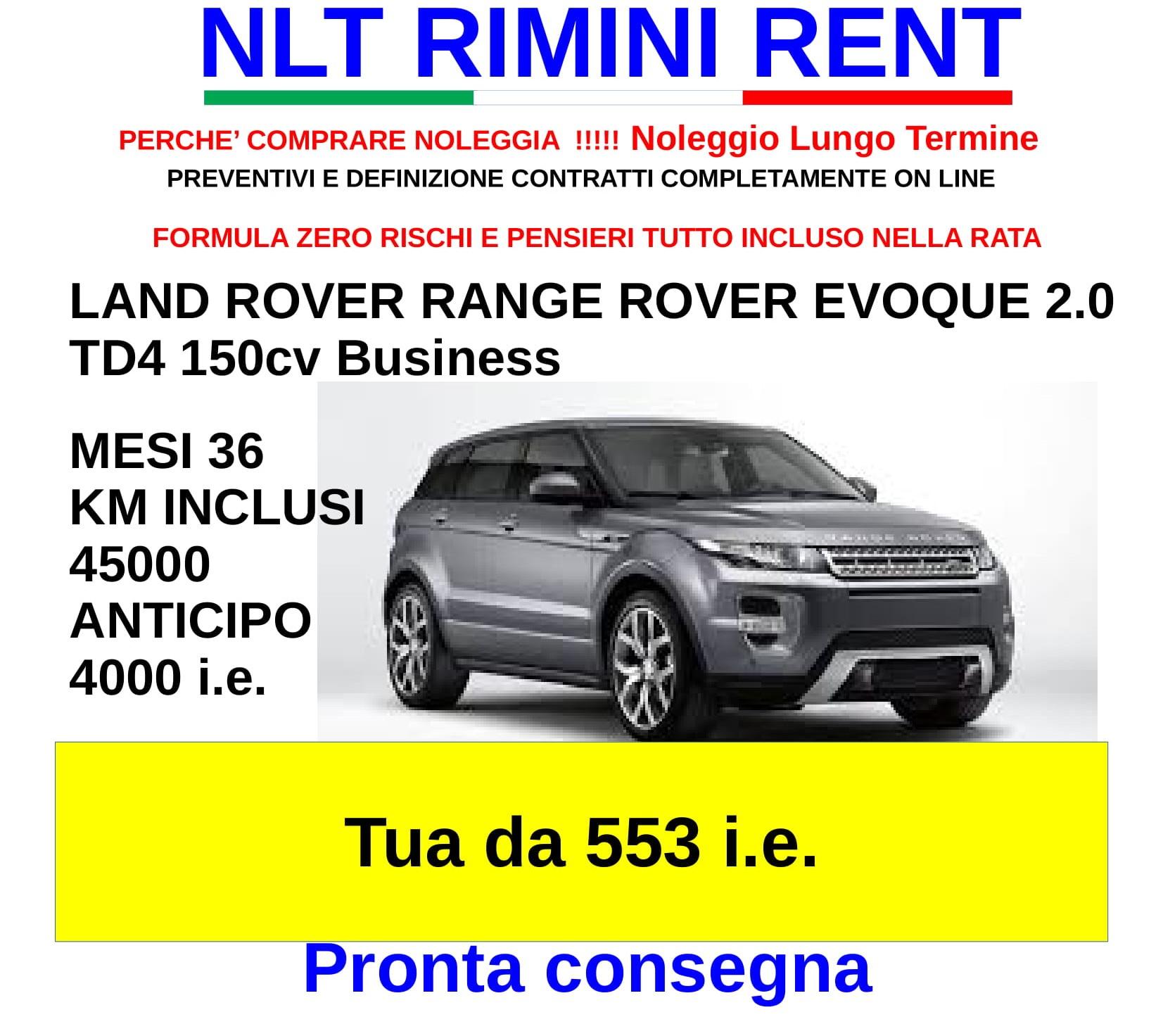 LAND ROVER RANGE ROVER EVOQUE 2.0 TD4 150cv Business Da